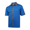 Pinstripe Golf Polo - View 1