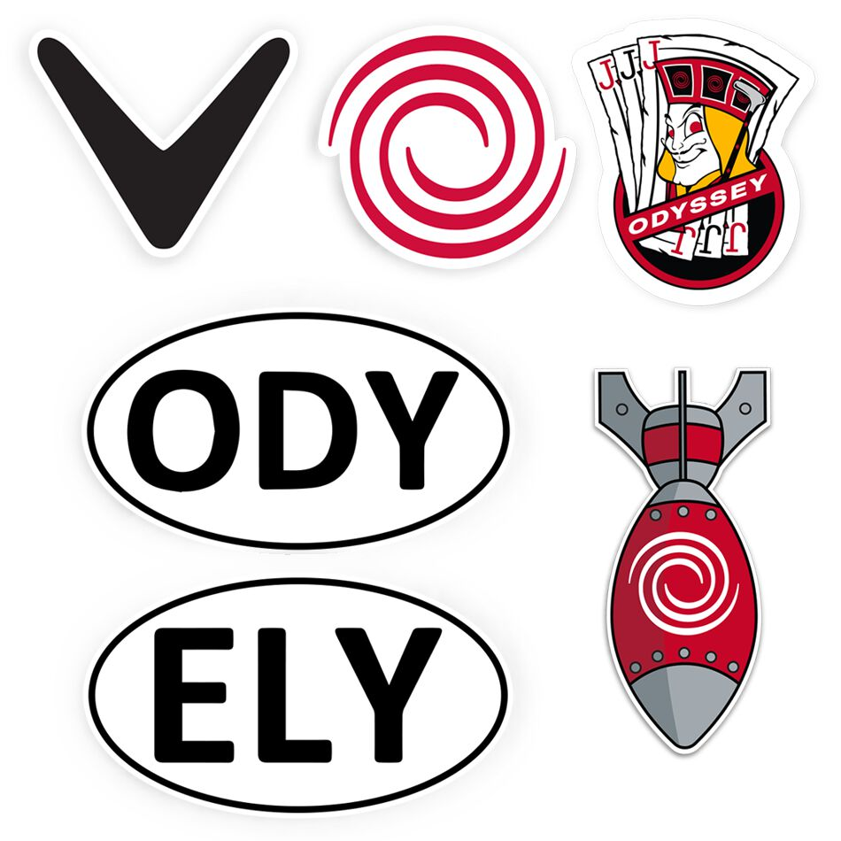 Image of Callaway Golf 6-Piece Sticker Bundle
