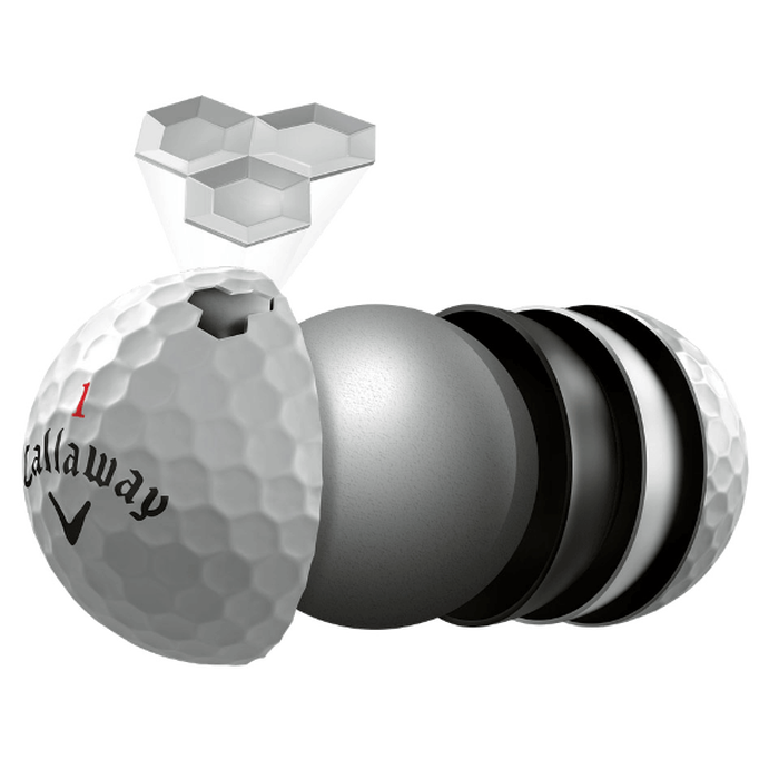 HEX Chrome+ Golf Balls