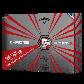 Pelota de Golf Chrome Soft X Truvis