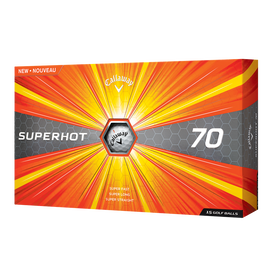 Pelota de golf Superhot 70 (paquete de 15 unidades)