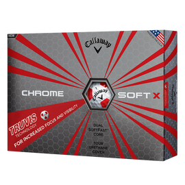 Pelota de Golf Chrome Soft X Truvis