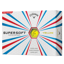 Balle de golf Supersoft Jaune
