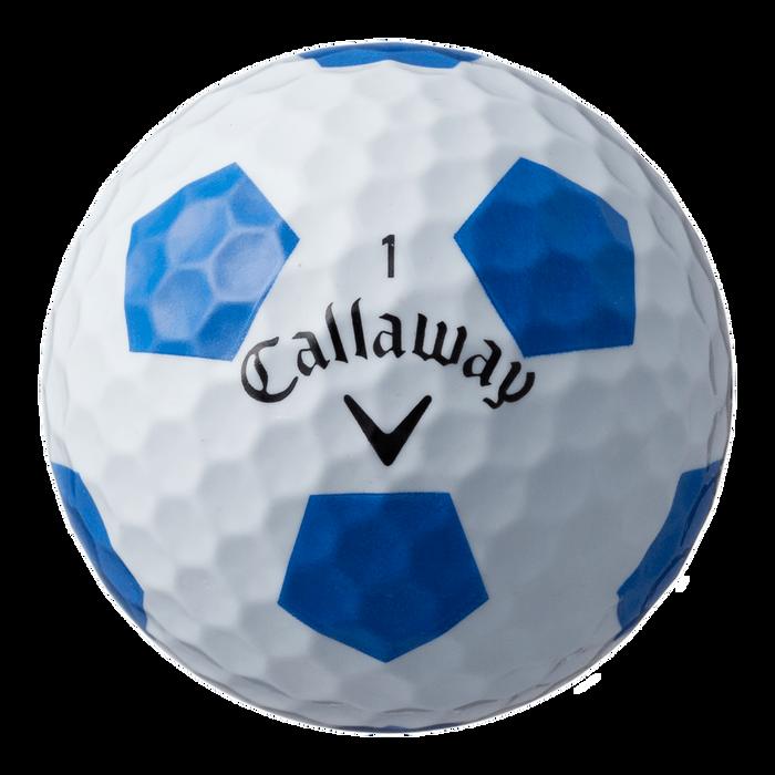 クロム ソフト X TRUVIS ボール ホワイト/ブルー