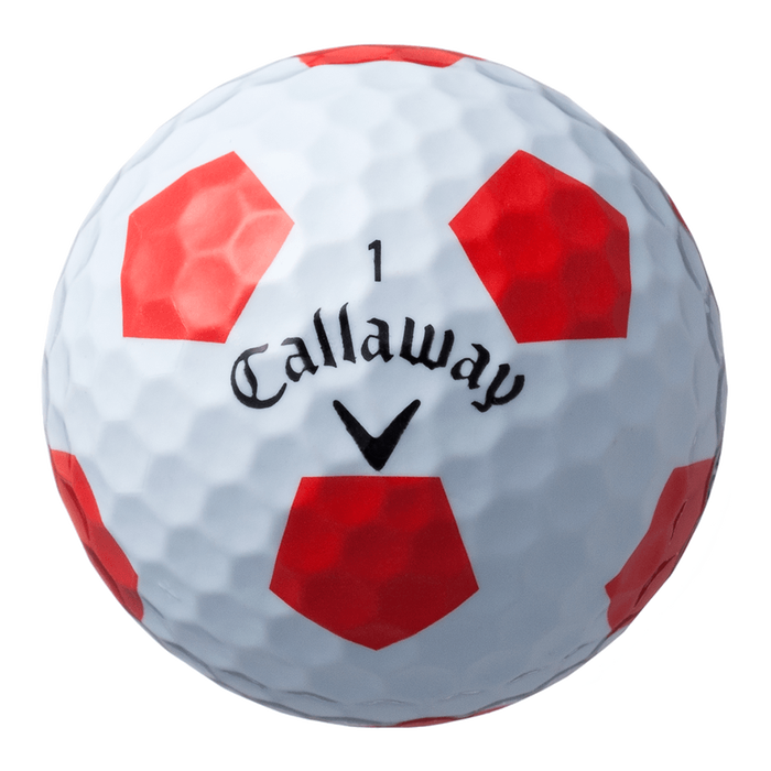 クロム ソフト X TRUVIS ボール ホワイト/レッド