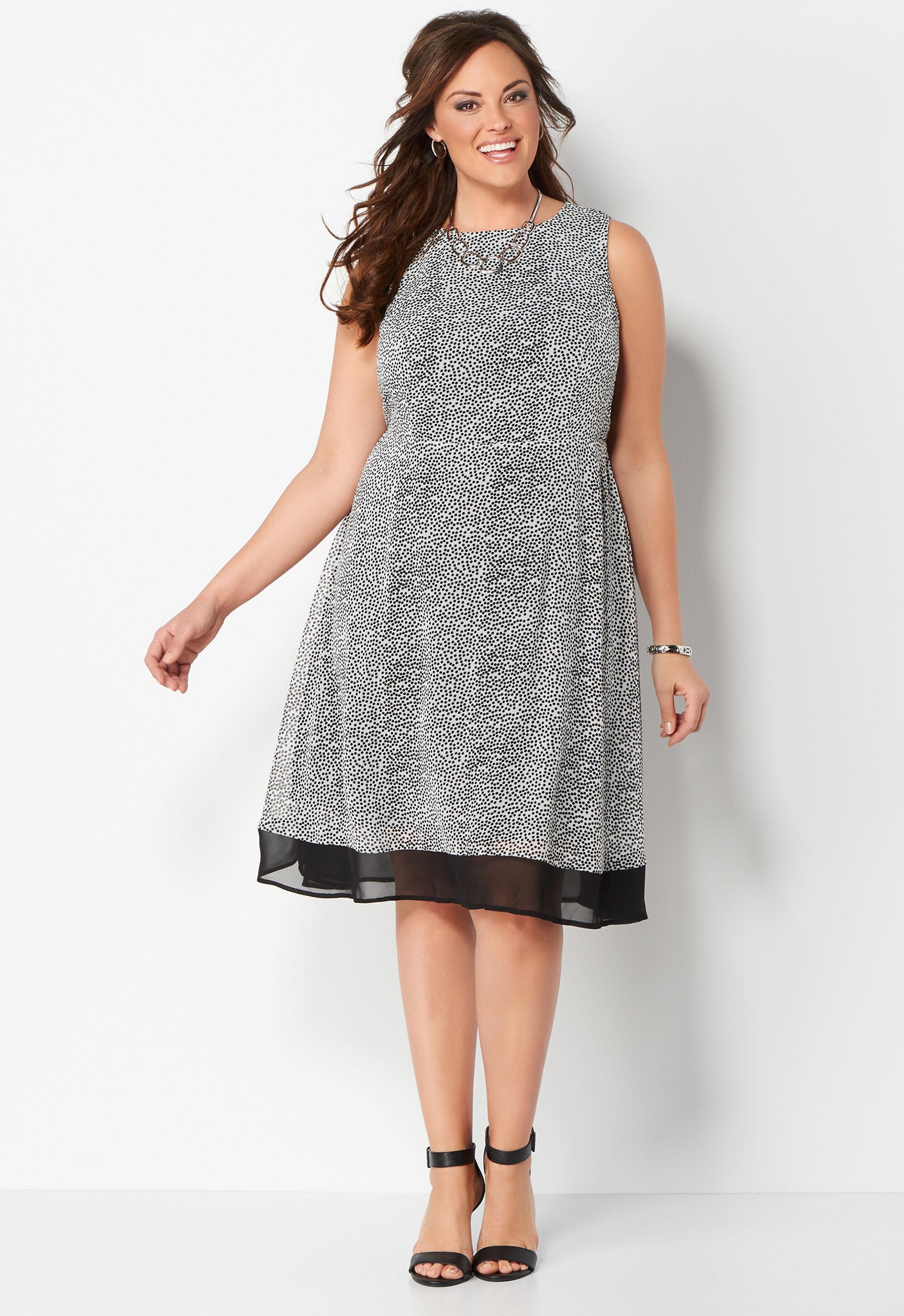 Polka Dot Cocktail Dresses