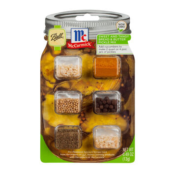 Ball® & McCormick® Sweet and Tangy Bread & Butter Pickle Mix