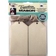 Transform Mason® Large Square Tags and String for Mason Jars, , hi-res