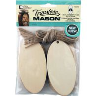 Transform Mason® Large Oval Tags and String for Mason Jars, , hi-res
