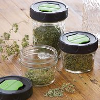 Ball® Regular Mouth 4 oz. Dry Herb Mason Jars with Herb Shaker Lids, 4 count