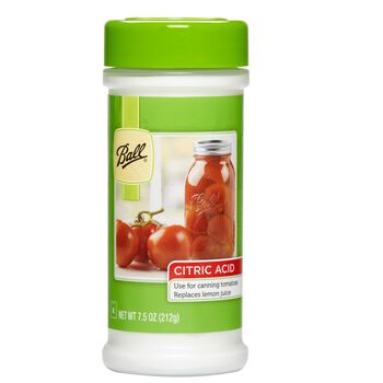 Ball® Citric Acid for Preserving Tomatoes, 7.5 oz.
