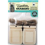 Transform Mason® Large Mason Jar Tags and String for Mason Jars, , hi-res