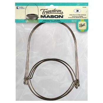 Transform Mason® Wide Mouth Wire Handle for Mason Jars, 1 count