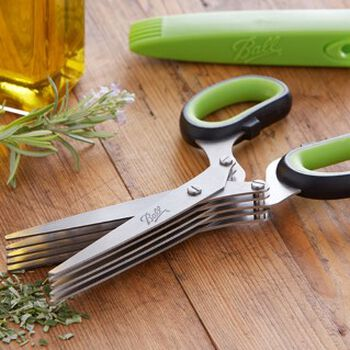 Ball® Culinary Herb Series 5-Blade Herb Scissors, , hi-res