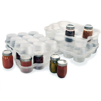 Jar Box Pint 12-Jar Storage Unit, 1 count