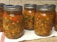 Homemade Vegetable Soup - Pressure Canning - Ball® Recipes