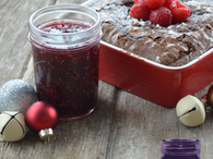 Raspberry Swirled Brownies - Ball® Recipes
