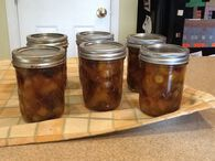 Spiced Peach Chutney - Waterbath Canning