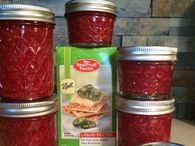 Raspberry Freezer Jam (made using Ball® RealFruit® Liquid Pectin) - Ball® Recipes