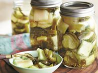 Watermelon, Cucumber, Jalapeño Pickles - Ball® Recipes