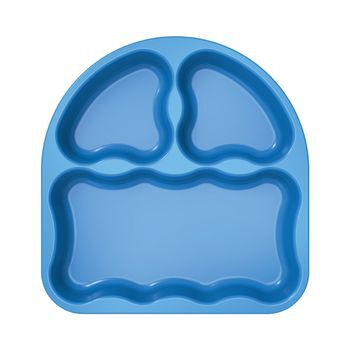 Gerber® Graduates® Tri-Suction Plates, 2 Pack, , hi-res