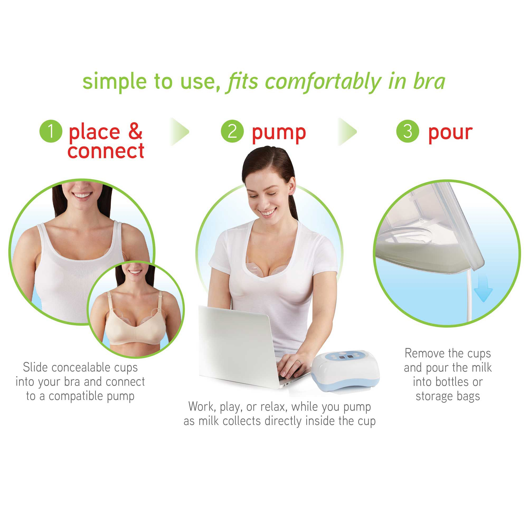 Nuk Simply Natural Freemie Collection Cups Nuk