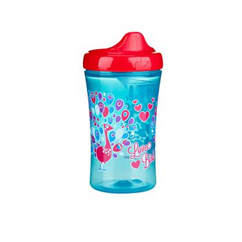 Gerber Graduates Advanced Developmental Hard Spout Sippy Cup Peacock 10 Oz 1 Pack, , hi-res