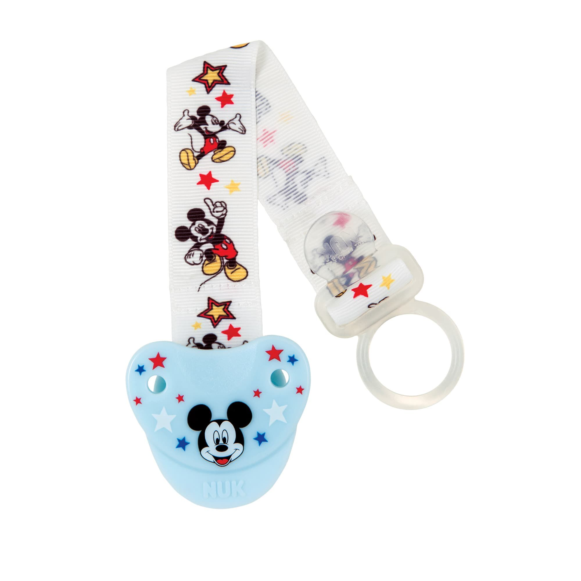 Disney Mickey Mouse Pacifier Clip Pacifiers Nuk
