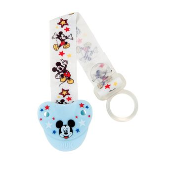 NUK® Disney Mickey Mouse Pacifier Clip, , hi-res