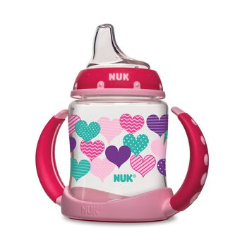 NUK® Learner Cup, Hearts, 5 Ounce 1 Pack, , hi-res