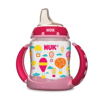 NUK® Learner Cup, Hot Air Balloons, 5 Ounce, 2 Pack, , hi-res