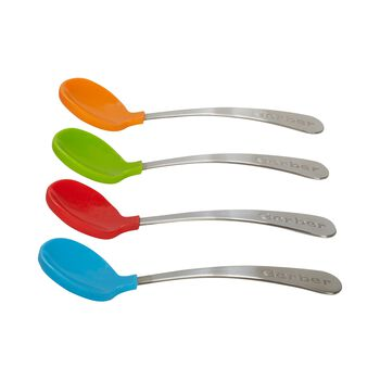 Gerber® Graduates® Soft Bite Toddler Spoon, 4 Pack, , hi-res
