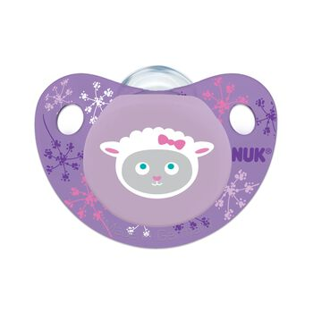 NUK® Cute as a Button Orthodontic Pacifier, Farm Animals, 0-6 Months, 2 pack, , hi-res