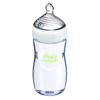 NUK® Simply Natural™ Bottle, 9 oz 1 pack, , hi-res