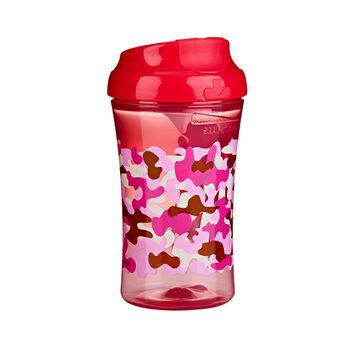 Gerber® Graduates Advanced Developmental Cup-Like Rim Camouflage Cup Girls 10 Oz 1 Pack, , hi-res
