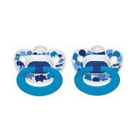 NUK® Confetti Orthodontic Pacifier, Elephants, 6-18 Months, 2 Pack, , hi-res