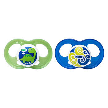 NUK® Breeze Orthodontic Pacifier, 6-18 Months Boy, 2 pack, , hi-res