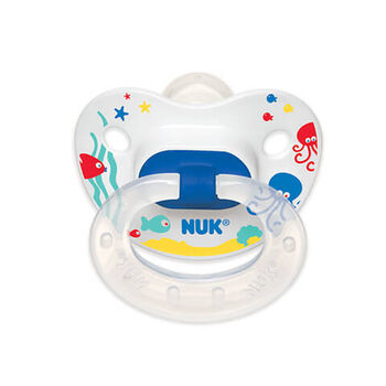 NUK® Sea Creatures Orthodontic Pacifier, 6-18 Months, 2 Pack, , hi-res