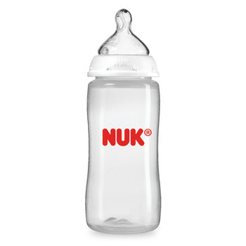 NUK® Bottle with Perfect Fit™ nipples, 10-ounce, 1 pack, , hi-res