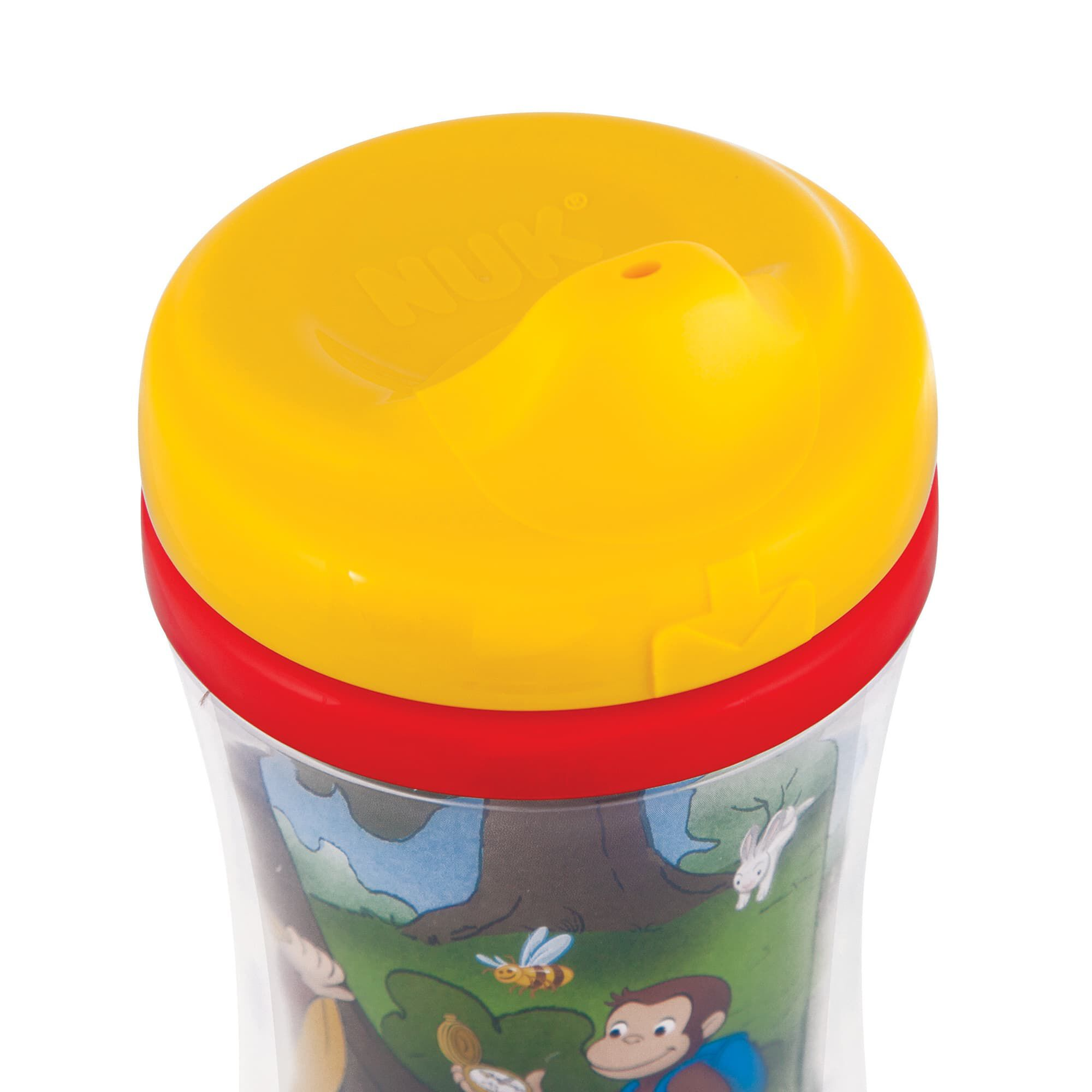 Gerber® Graduates® Curious George Insulated Hard Spout 9 Ounce Cup  #C79704