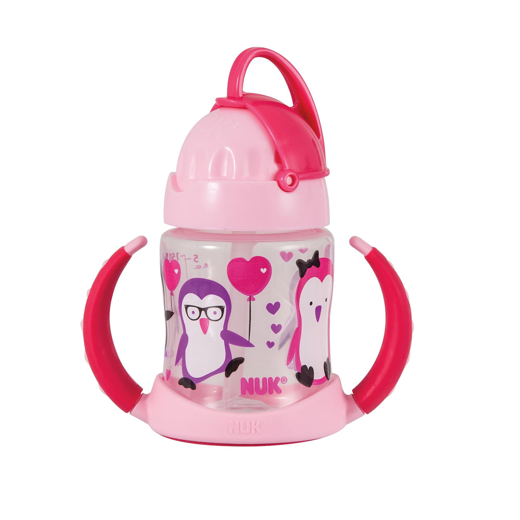 Nuk 174 Straw Learner Cup 5 Ounce 1 Pack Toddler Cups Nuk
