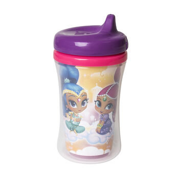 NUK® Shimmer and Shine Insulated Hard Spout Cups, 9-ounce, Girl, 1 pack, , hi-res