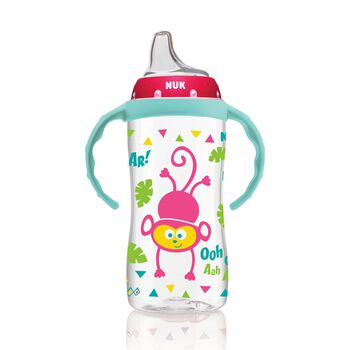 NUK® Large Learner Cup, Jungle Girl, 10 Ounce, 1 Pack, , hi-res