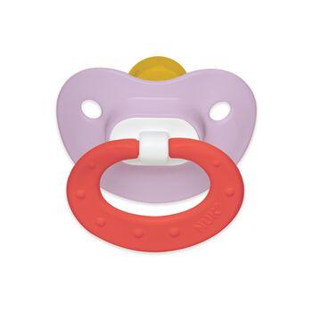 NUK® Juicy Orthodontic Pacifier, 18-36 Month Girl, 2 pack, , hi-res