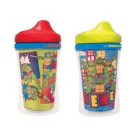 Gerber® Graduates® Teenage Mutant Ninja Turtles Insulated Hard Spout 9-Ounce Cup, 2 Pack, , hi-res