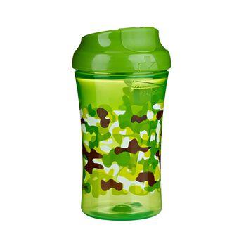 Gerber Graduates Advanced Developmental Cup-Like Rim Camouflage Cup  Boy 10 Oz 1 Pack, , hi-res