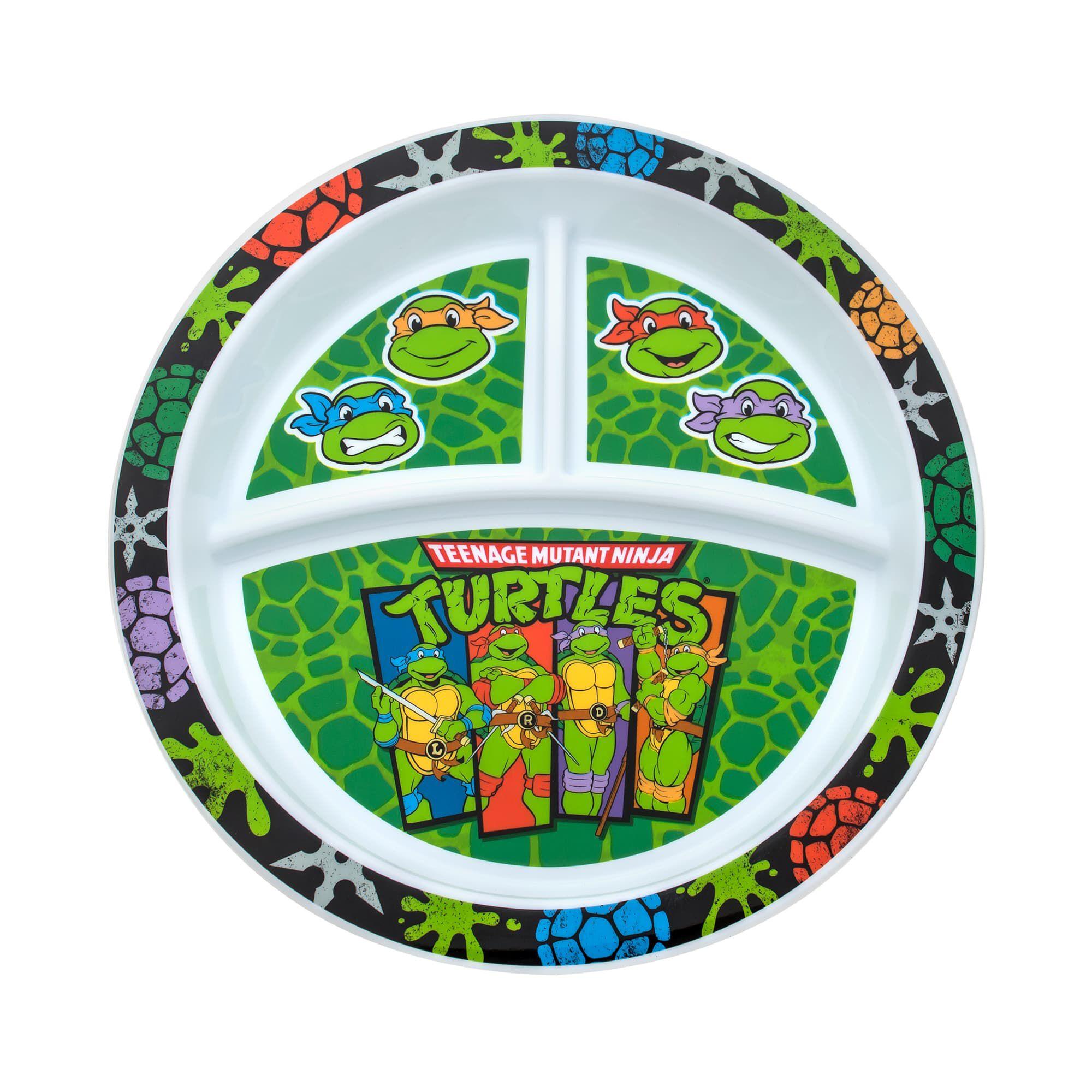 gerber graduates teenage mutant ninja turtles plate 1 pack tableware nuk. Black Bedroom Furniture Sets. Home Design Ideas