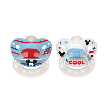 NUK® Disney® Mickey Mouse Orthodontic Pacifier 0-6 Months, 2 Pack, , hi-res