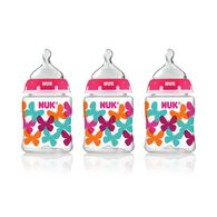 NUK® Bottle, 5-Ounce Slow Flow, Butterflies, 3 Pack, , hi-res