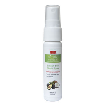 NUK® Simply Natural™ Lanolin-free Nipple Spray, 1 oz, , hi-res